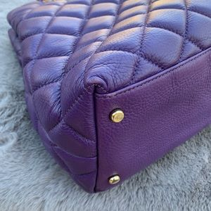 kate spade Bags - Kate Spade Purple Quilted Chain Shoulder Bag